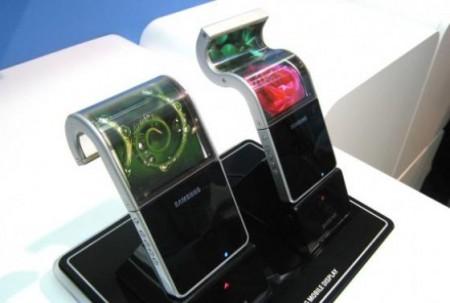 Samsung AMOLED flexible