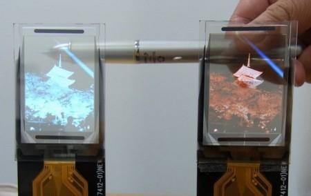 TDK écran transparent flexible