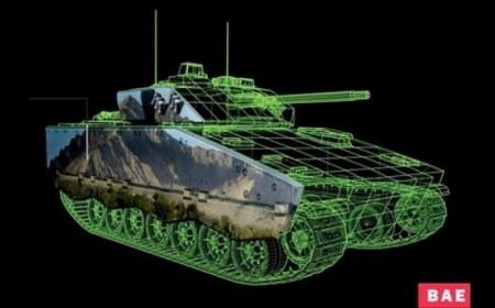 papier électronique char militaire